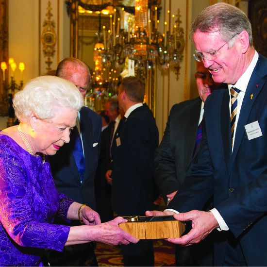 A gift for HRH Queen Elizabeth II