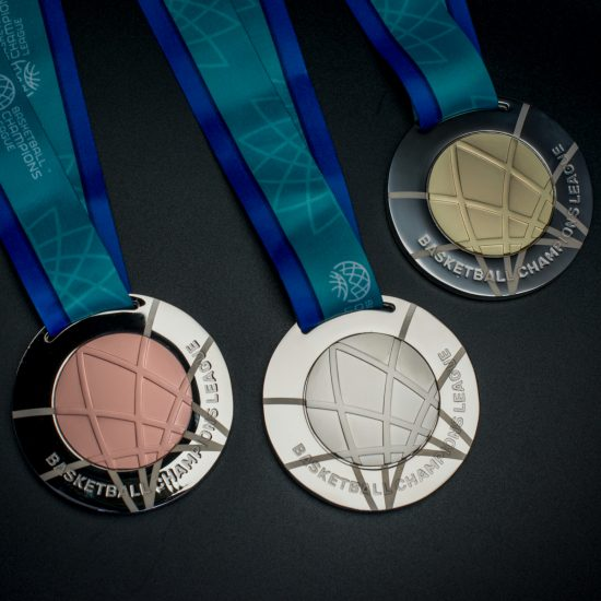 Basketball Champions League medals