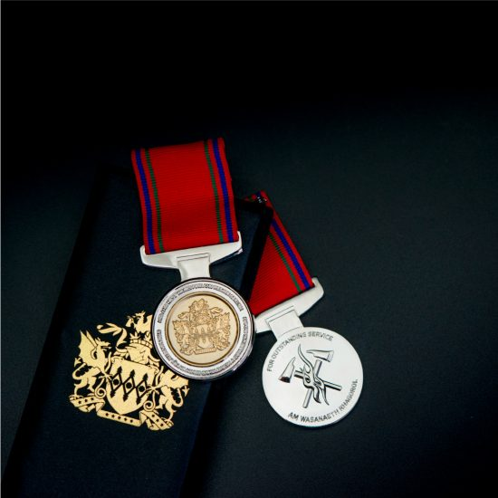 MAWWFRS Long Service Medals