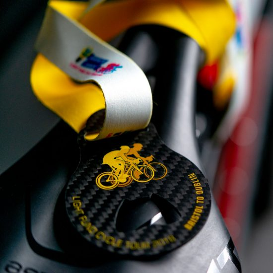 Light Fund Medal on Saddle
