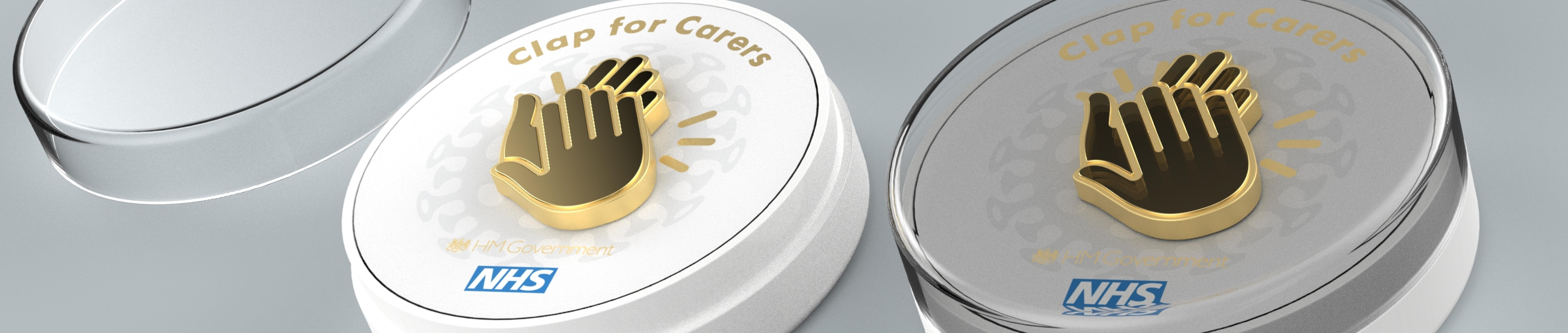'Clap for carers' Pin Badge